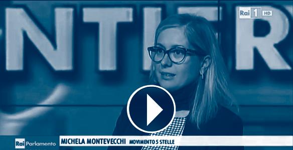 Rai parlamento puntata del 21 3 2015 michela montevecchi for Parlamento rai